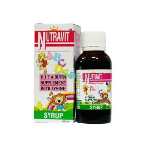 Vitamin syrup supplement with Lysine