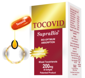 Antioxidant combination product with tocotrienols